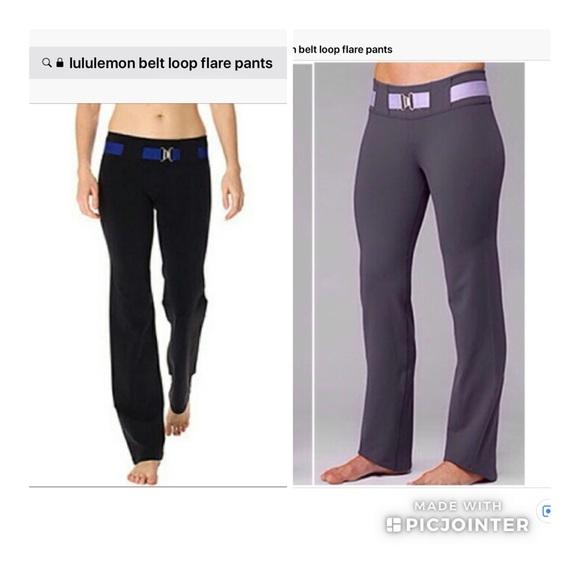 e5588395db lululemon athletica Pants | Lululemon Flared Size 6 Good Condition ...